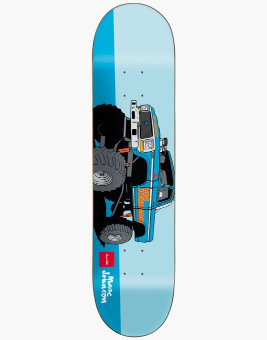 Chocolate Johnson Monster Trucks Skateboard Deck - 8.125""