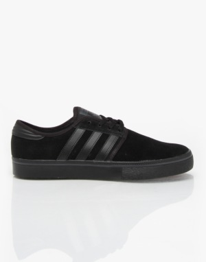 Adidas Seeley Pro Skate Shoes - Core Black/Core Black/Core Black