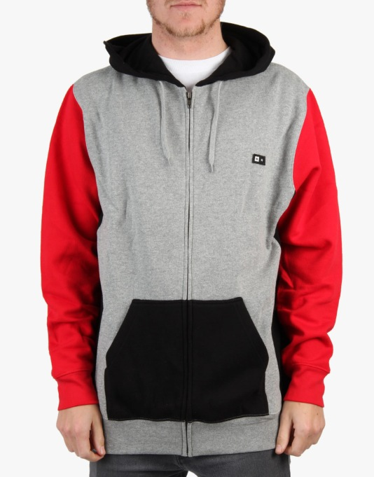 Fourstar Delancey Zip Hoodie - Athletic Heather