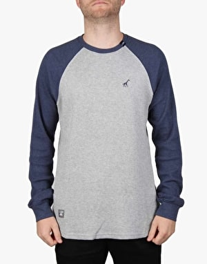 LRG RC Raglan Thermal T-Shirt - Ash Heather