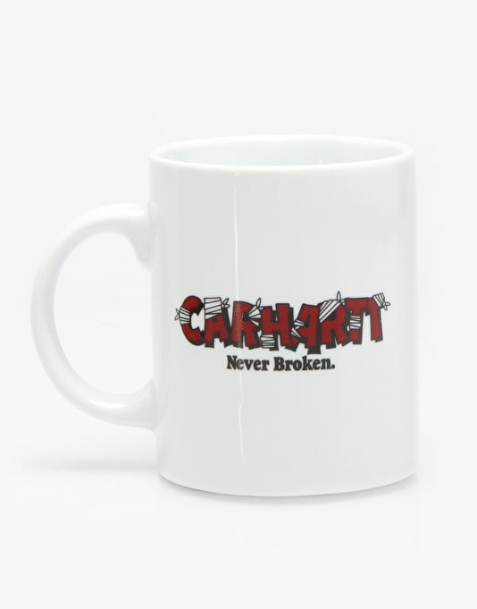 Carhartt Coffee Mug - White/Red/Black