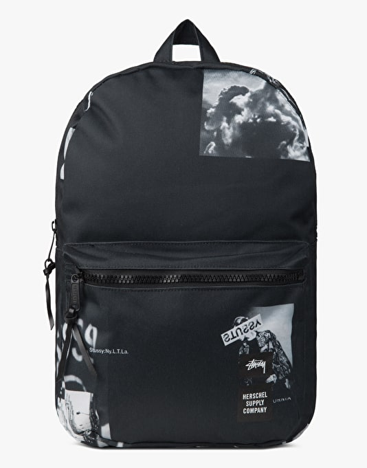 Stüssy x Herschel Supply Co. Placement Print Lawson Backpack - Black