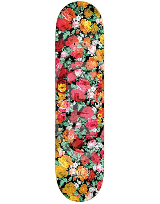 """Real Torgerson Floral Oval Embossed Pro Deck - 8.25"""""""