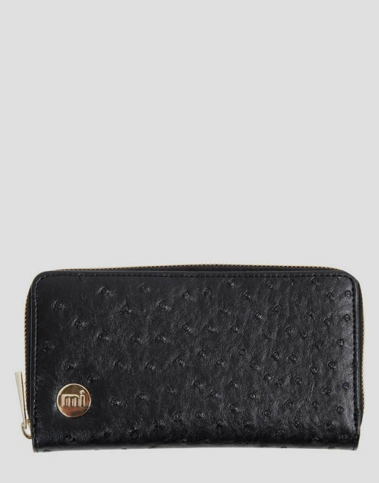 Mi-Pac Zip Purse - Ostrich Black