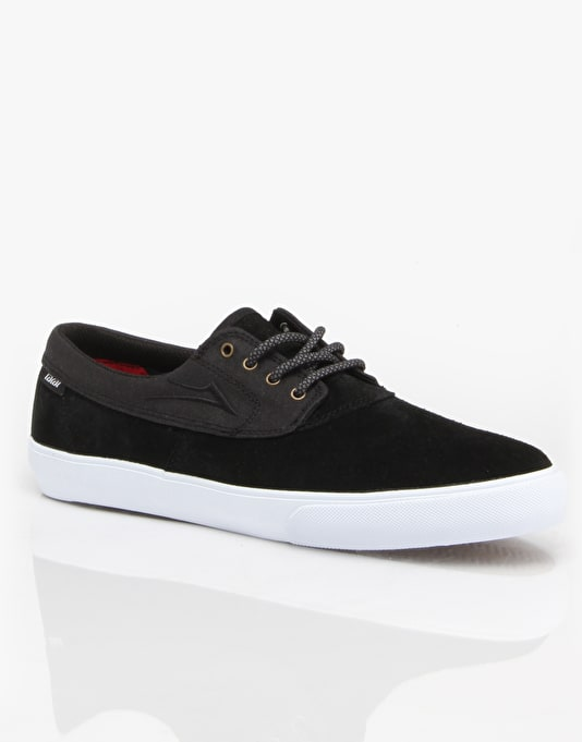 Lakai Camby Skate Shoes - Black Suede