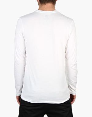 Element Basic Crew L/S T-Shirt - White