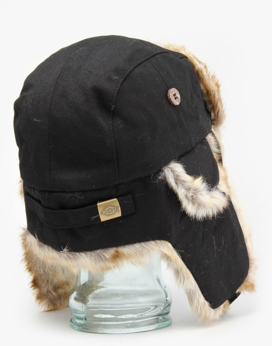 Dickies Trout Creek Trapper Hat - Black