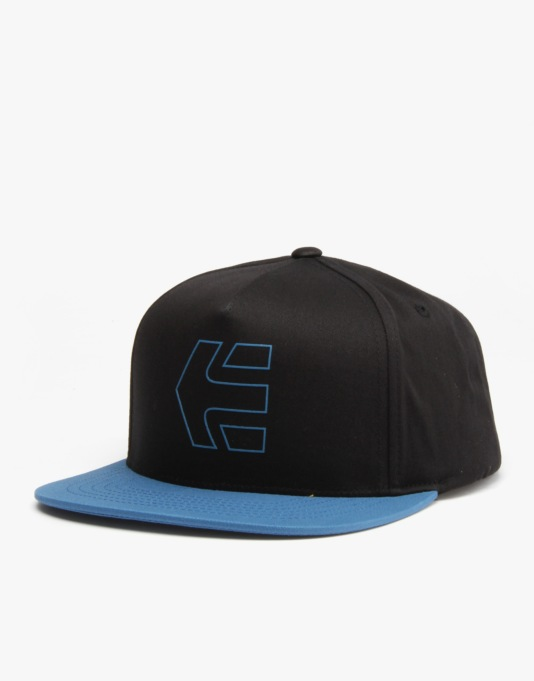 Etnies Icon 7 Snapback Cap - Black