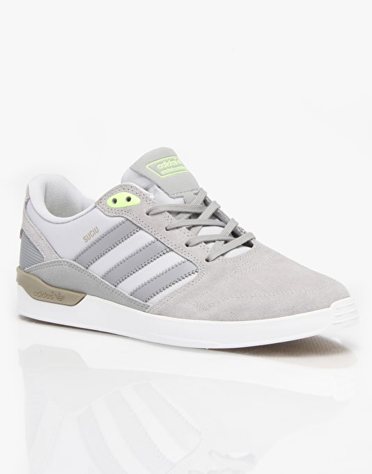 Adidas ZX Vulc (Mark Suciu) Skate Shoes - Grey/Onix/Grey