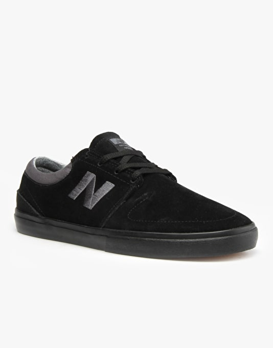New Balance Numeric Brighton 344 Skate Shoes - Black Suede