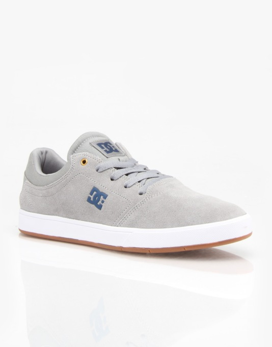DC Crisis Skate Shoes - Grey