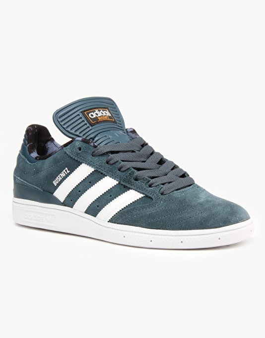 Adidas Busenitz Pro Skate Shoes - Midnight/Ftwr White/Bright Orange