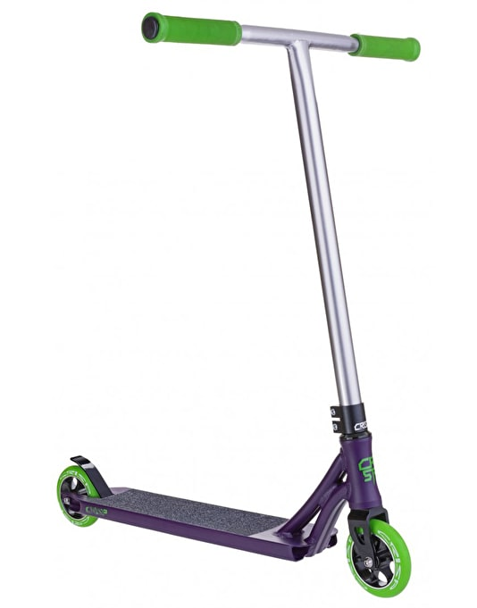 Crisp Ultima 2015 Scooter - Satin Purple/Black Chrome