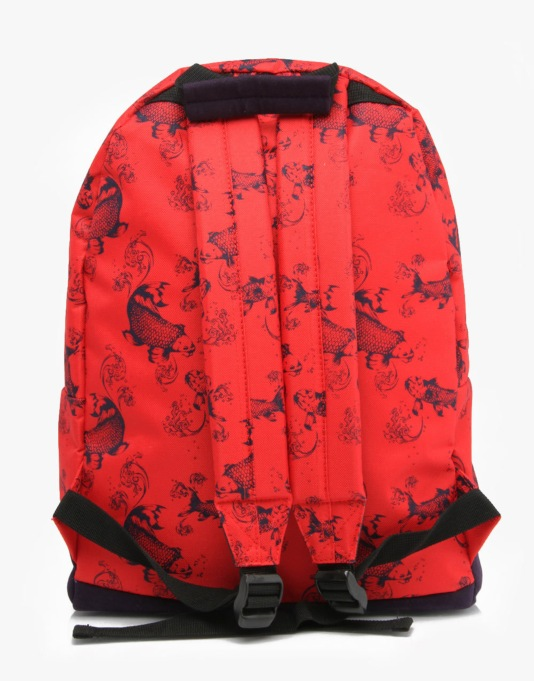 Mi-Pac Koi Backpack - Bright Red