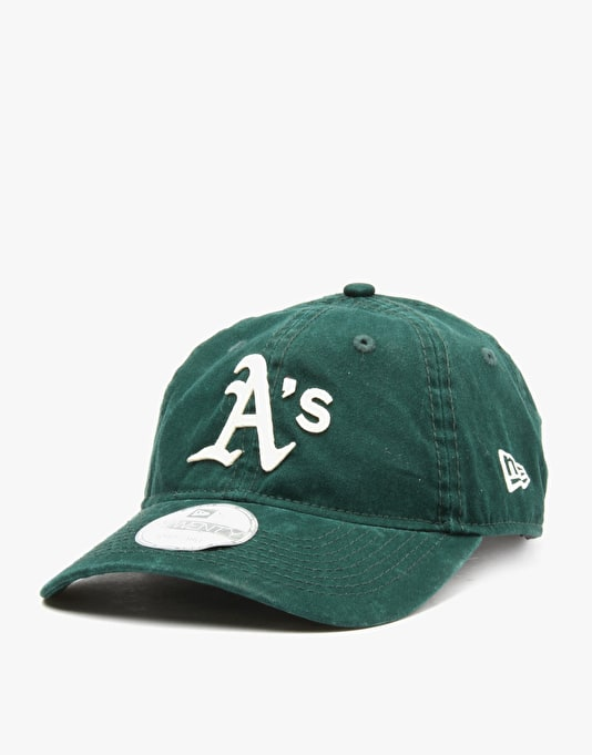 New Era MLB Oakland Athletics Felt Classic Snapback Cap - Green