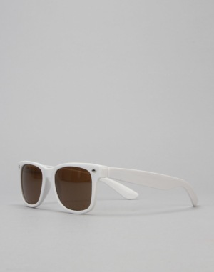 Chocolate Basic Chunk Shades - White