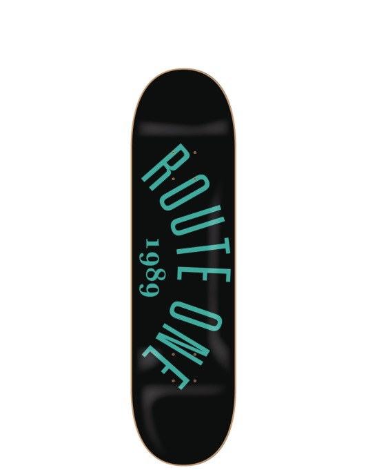 Route One Arch Logo Mini Team Deck - 7.25""