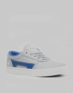 Etnies RCT Boys Skate Shoes - Light Grey