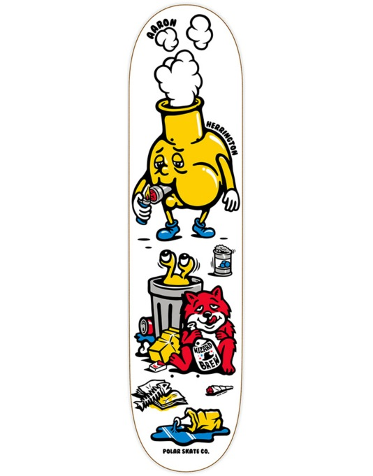 Polar Herrington Bong Hit Pro Deck - 8.6""