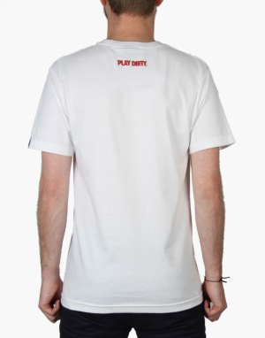 Undefeated 5 Strike Fade T-Shirt - White