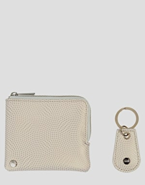 Mi-Pac Coin Holder & Keyring Gift Set - Lizard Pearl