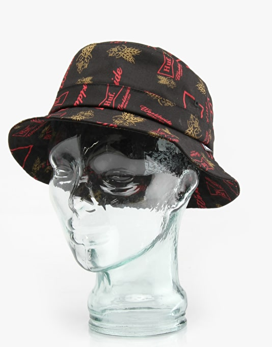 HUF Drink Up Bucket Hat - Black