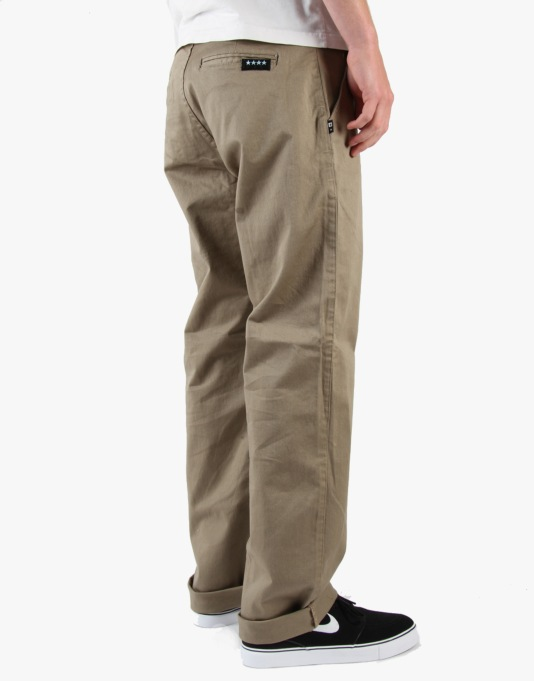 Fourstar Carroll Sig. Pants - Dark Khaki