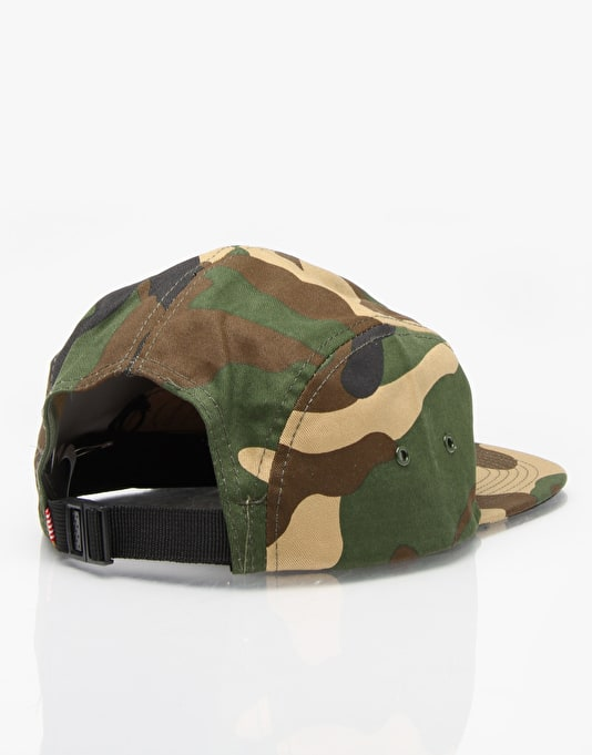 Herschel Supply Co. Glendale 5 Panel Cap - Woodland Camo