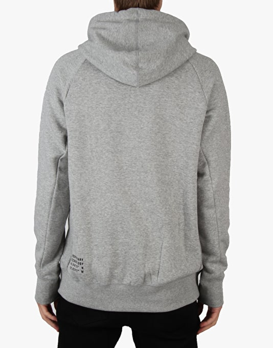 Nike SB Icon Polka Dot Pullover Hoodie - Dk Grey Heather (Black)
