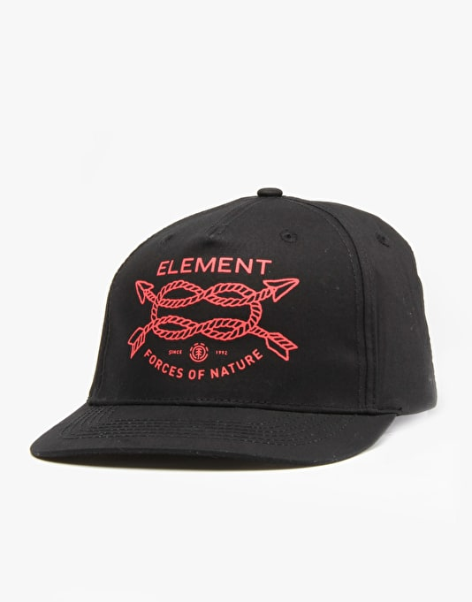Element Arrowpe Snapback Cap - Black