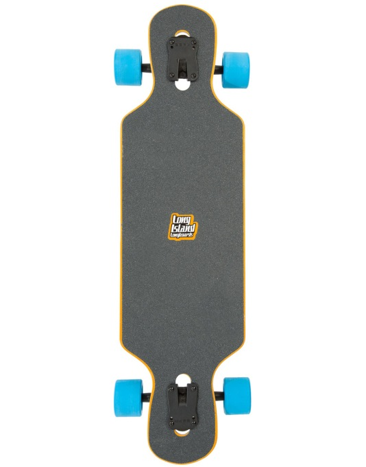 "Long Island Sun Drop Through Longboard - 34.5"" x 9.5"""