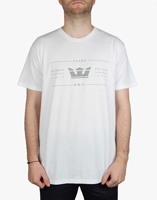 Supra International T-Shirt - WHT