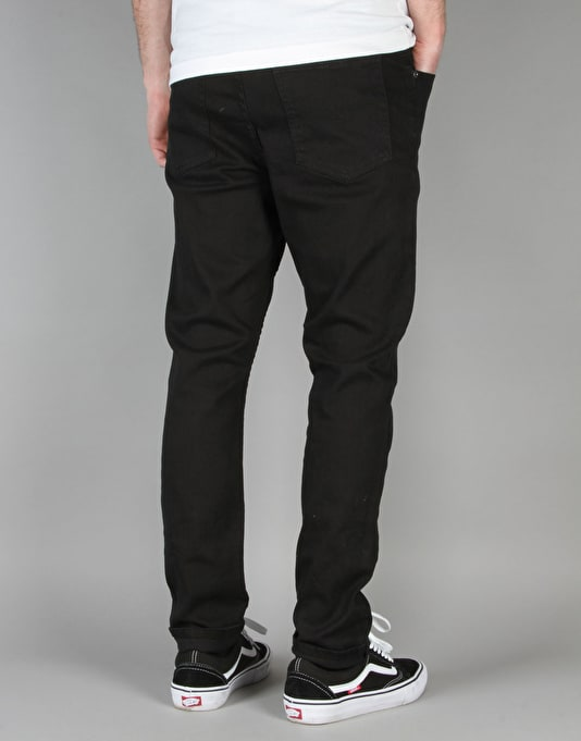 Cheap Monday Dropped Tapered Jeans - New Black