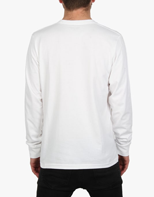 Carhartt l s pocket t shirt white long sleeve t shirts for Carhartt long sleeve t shirts white