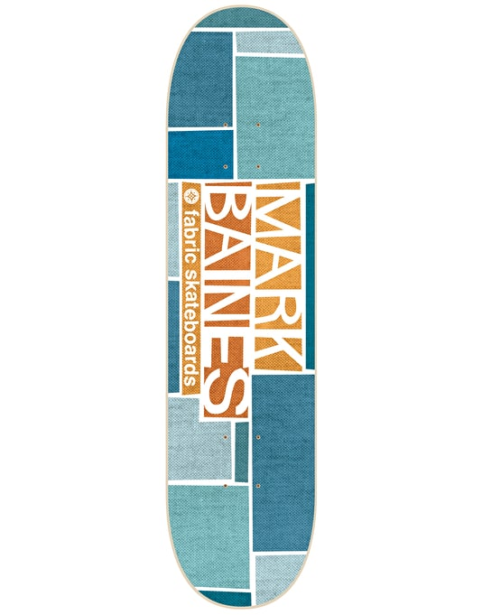 Fabric Baines Golden Pro Deck - 8""