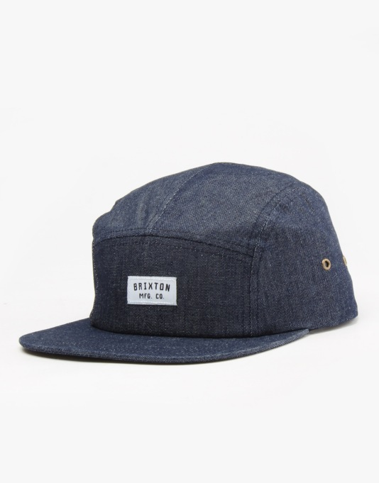 Brixton Hendrick 5 Panel Cap - Denim