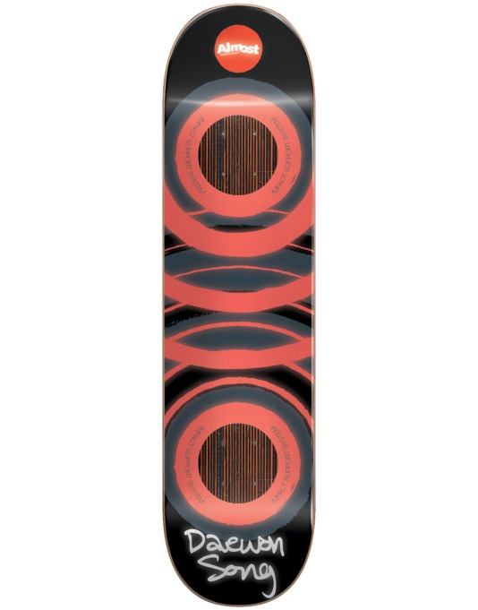 Almost Daewon Glow in the Dark Impact Support Pro Deck - 8""