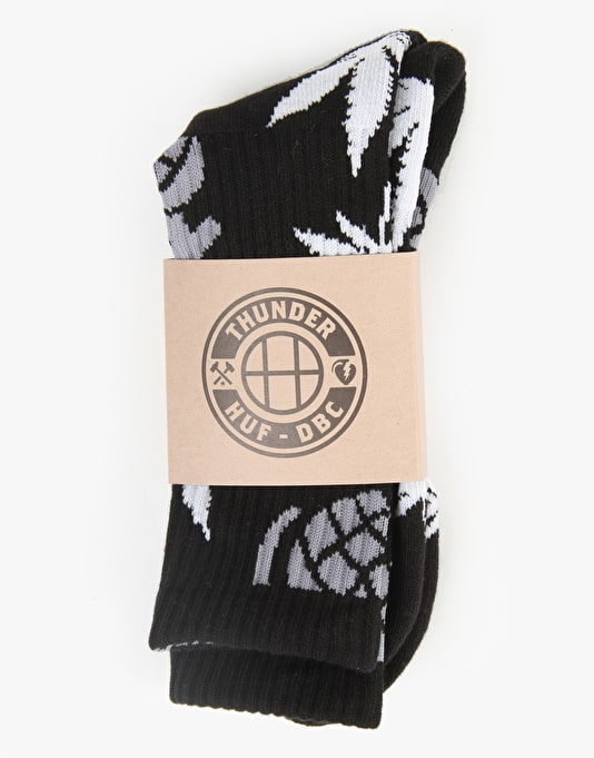 Thunder x HUF 1 Socks - Black
