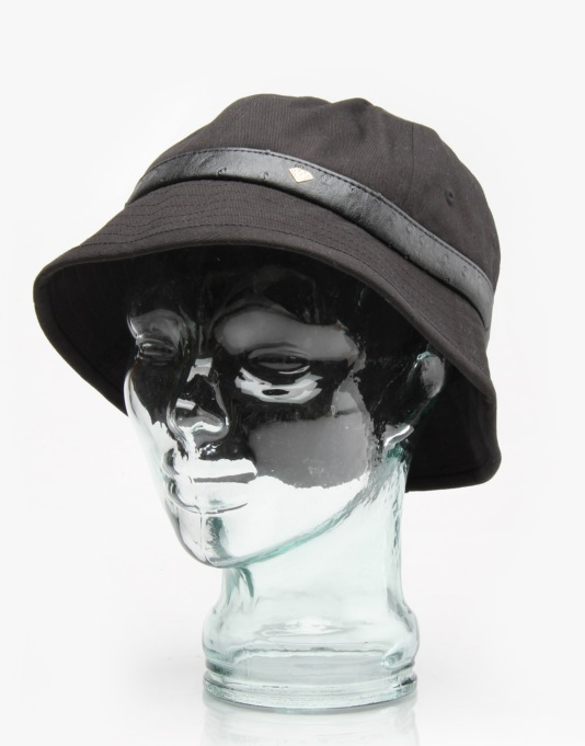 Diamond Supply Co. Ostrich Bucket Hat - Black