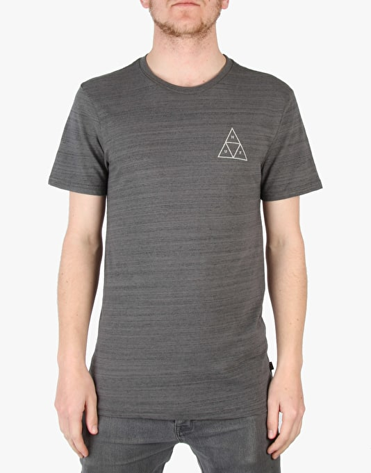 HUF Streaky Wash T-Shirt - Charcoal
