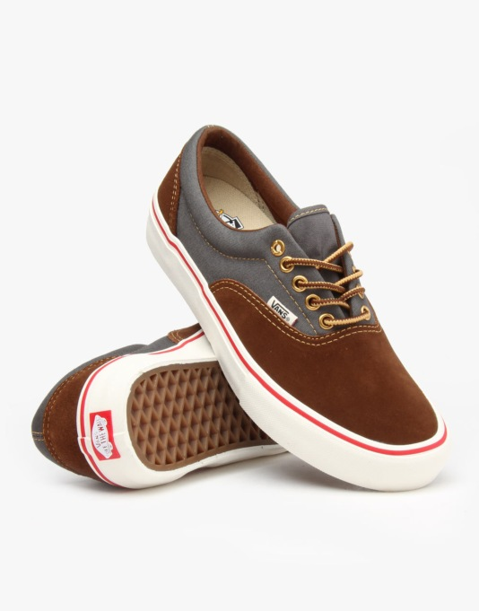 Vans x Anti Hero Era Pro Skate Shoes - Brown/Cardiel