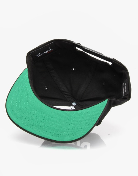 Diamond Supply Co. Caroline Snapback Cap - Black