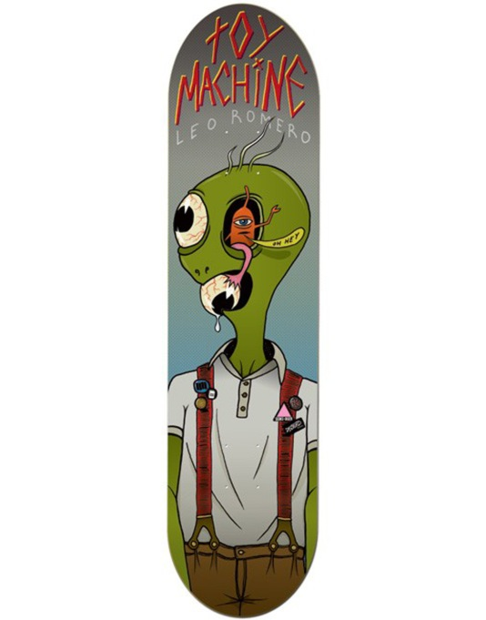 Toy Machine Romero Mind Control Pro Deck - 8.25""