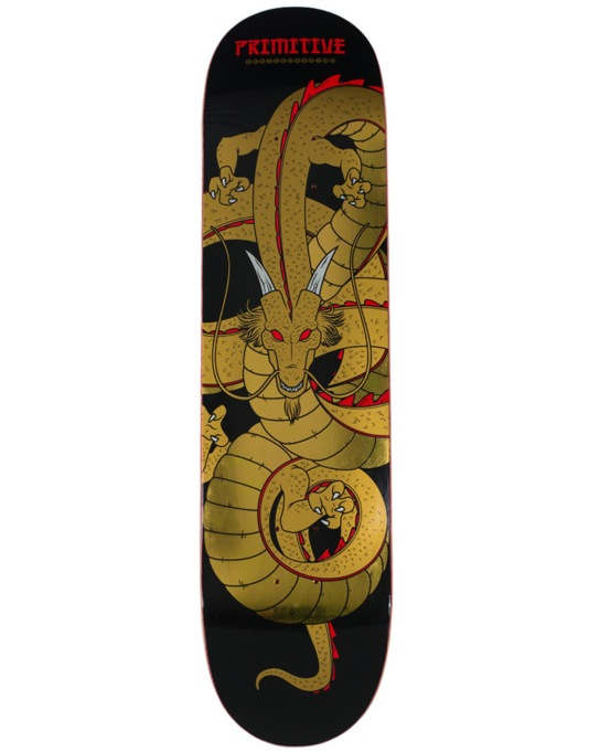 Primitive Skateboarding Dragon Team Deck - 8.1""