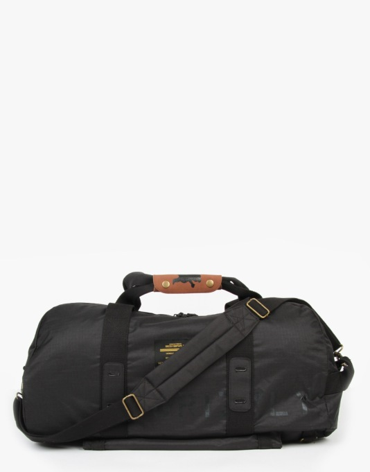 Grizzly Military Duffel Bag - Black