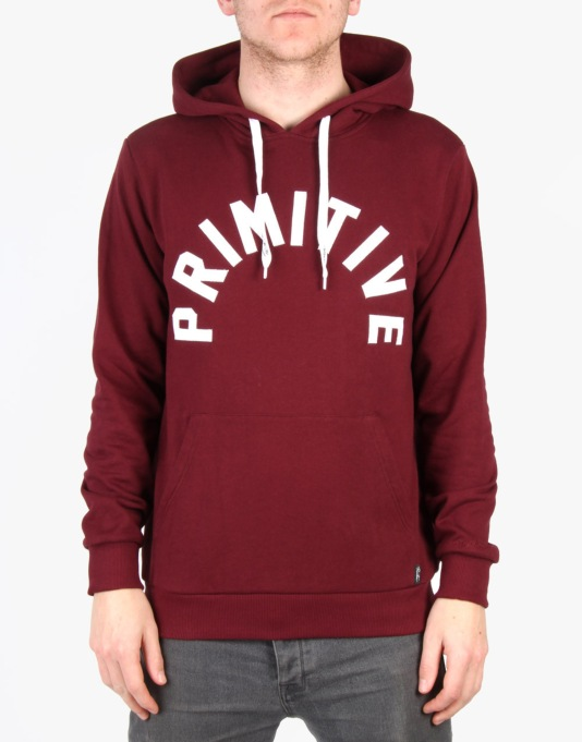Primitive Arch Pullover Hoodie - Burgundy