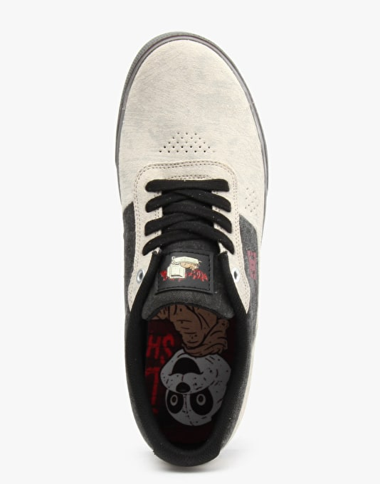 DC x Sean Cliver Switch S Skate Shoes - Cream