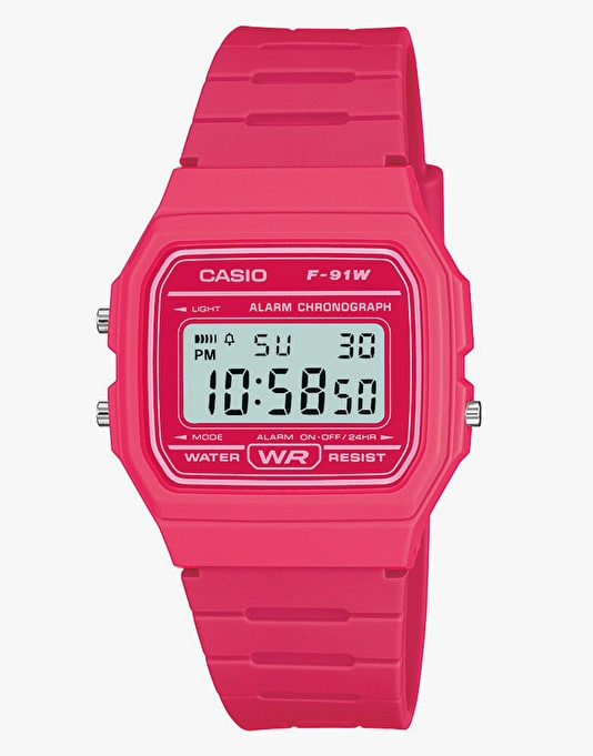 Casio F-91WC-4AEF Watch - Pink