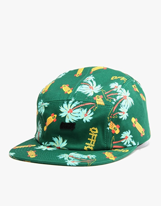 Official Skate Camper 5 Panel Cap - Green