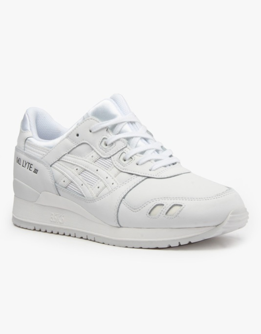 Asics Gel-Lyte III Shoes - White/White